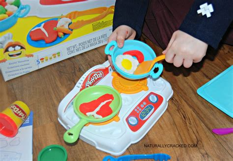 Play Doh Kitchen Creations Chef Set by March Madness With Play Doh Naturally Cracked