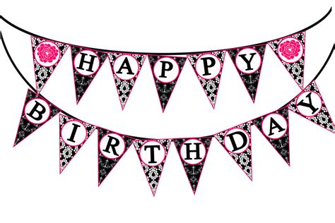 Bunting Flag Happy Annivesary happy birthday banner clip clipart panda free clipart images