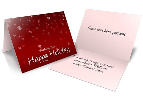 a2 card template photoshop a2 size half fold greeting card cover actions cover