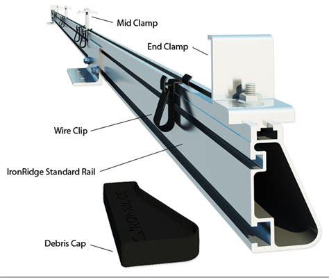 Solar Rack by Ironridge Roof Rack Parts