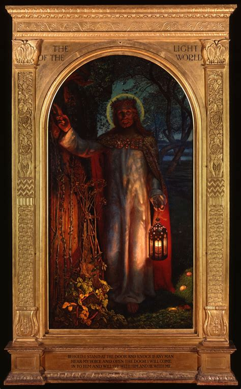 william holman hunt the light of the into the light living word live
