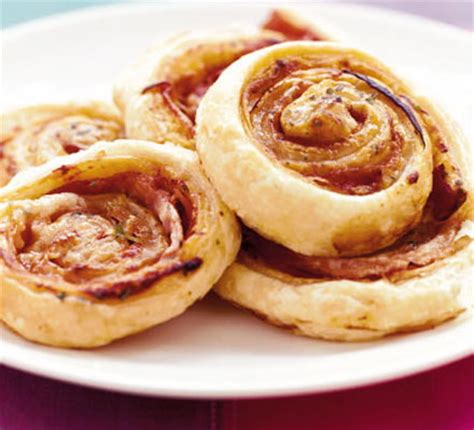 pinwheel recipes pizza puff pinwheels bbc good food