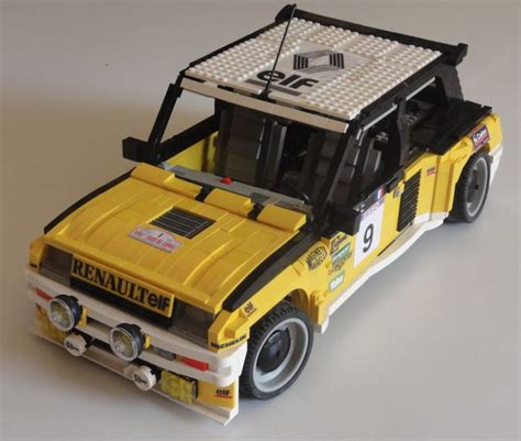 renault lego renault the lego car