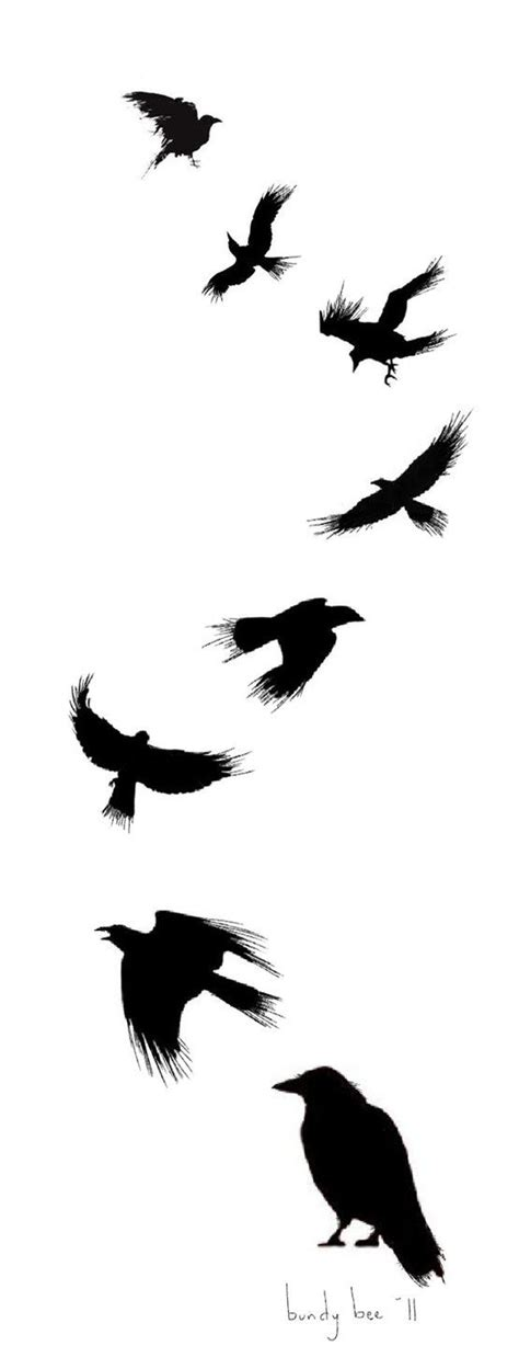 small raven tattoo design by nam o on deviantart this would