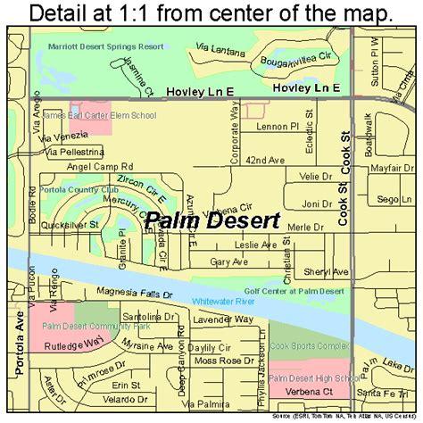 map of palm desert california palm desert california map 0655184