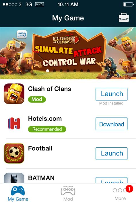 xmodgame comcom tweak xmodgame cheat untuk clash of clans zero apple s