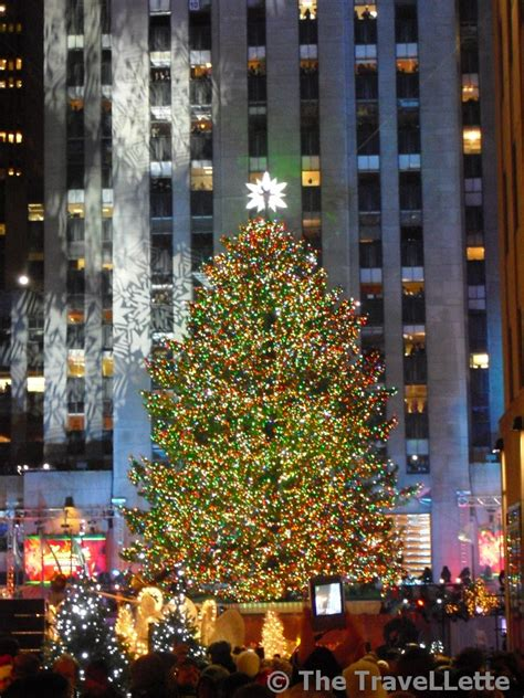 weihnachten in new york christmas tree lighting the