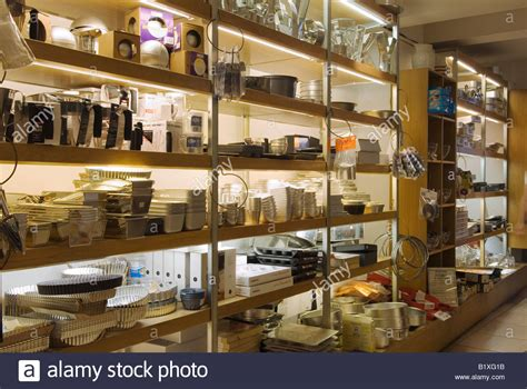 Kitchen Equipment Shop by Interior Divertimenti Kitchen Equipment Shop Maryledbone High Stock Photo Royalty Free