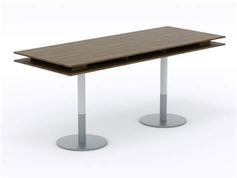 high top table base balma plus hightop meeting table with cylinder base