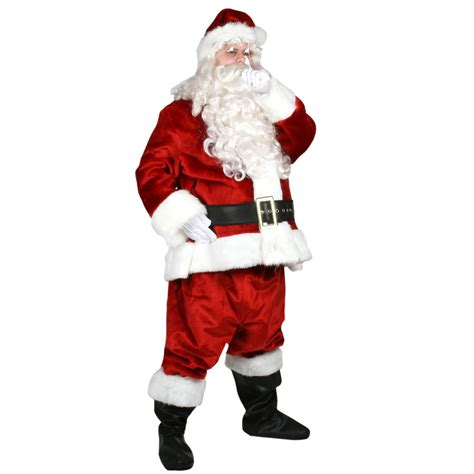 imperial santa suit crimson adult costume buy online