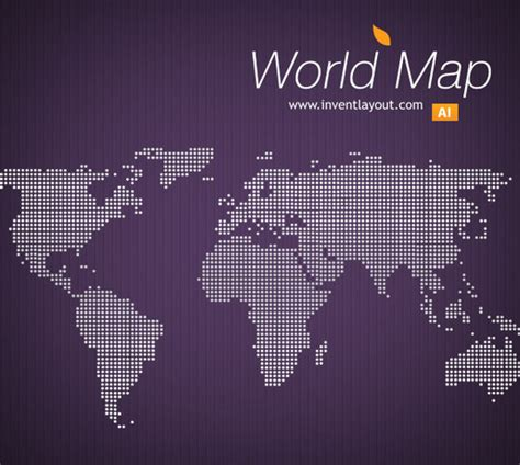 world map ai 21 creative world maps in photoshop eps ai formats