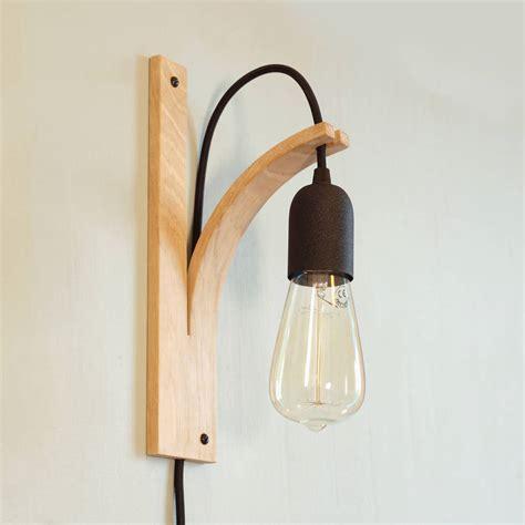 wall bracket light by layertree notonthehighstreet