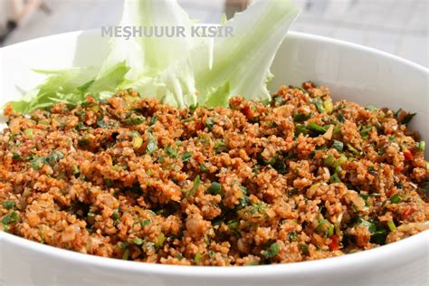 ottoman cuisine recipes kisir bulgur my most favorite recipe among turkish