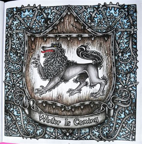 thrones colouring book indigo 17 best images about coloring book of thrones on