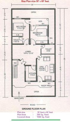 30 x 60 sq ft indian house plans | exterior | pinterest