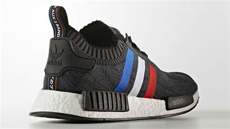 Adidas Colour Black Cowok Made In 1 adidas nmd r1 pk tri colour black the sole supplier