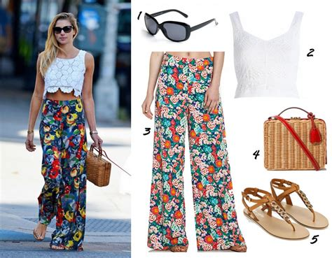 what to wear this summer 2014 women in their late 40s outfit ideas learn chic ways to wear palazzo pants