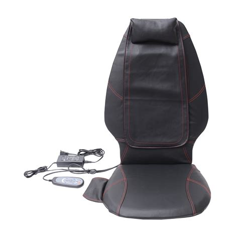 Cushion Puts The Remote In Your Seat by Homcom Personal Heated Pu Leather Shiatsu Massager Seat