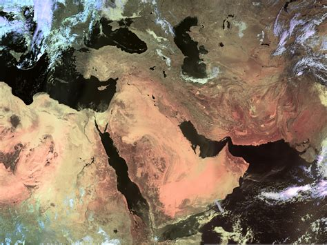 satellite map of middle east high resolution weather satellite images