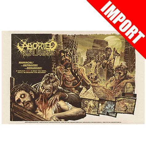 aborted nottingham aborted merchandise clothing t shirts posters