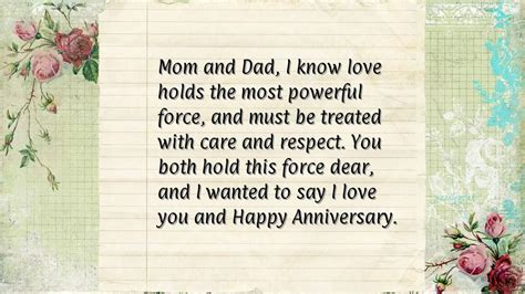 25th Wedding Anniversary Wishes for Parents