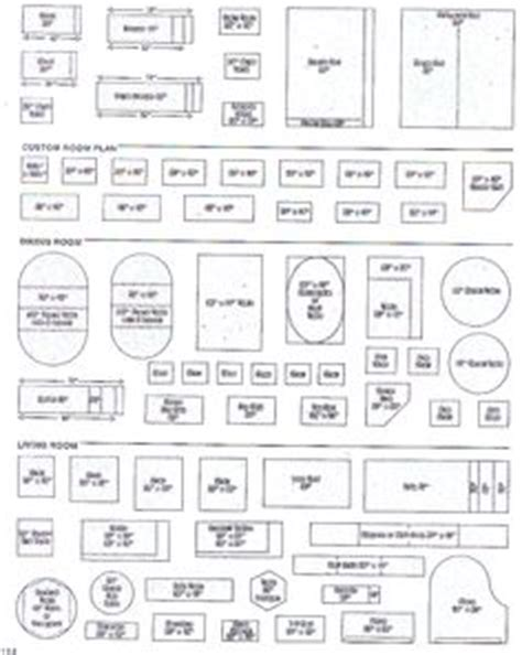 free downloadable templates for designing kitchen floor plan printable furniture templates 1 4 inch scale free graph