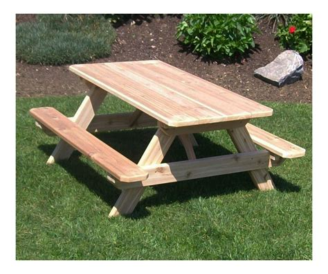 childrens wooden picnic table benches childrens wooden outdoor furniture outdoor goods