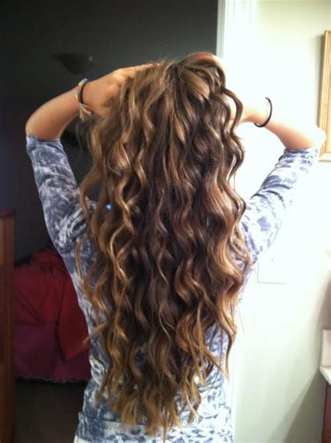 beach waves perm long hair curly hairstyle to have beach waves tutorials pretty