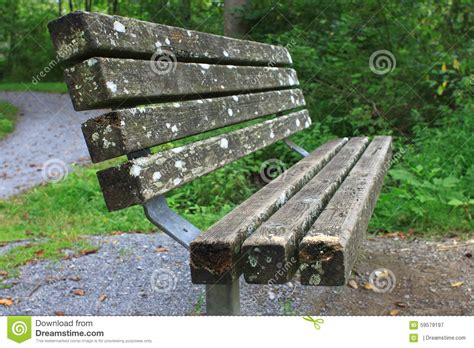 park bench productions park bench stock photo image 59579197