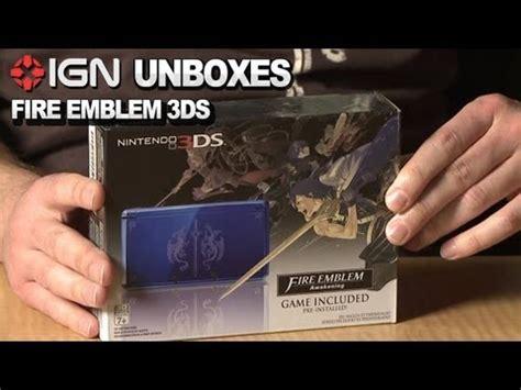 l'unboxing del nintendo 3ds griffato fire emblem
