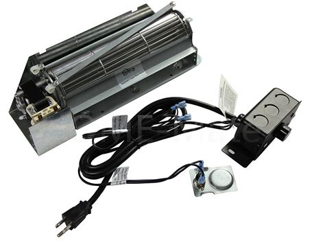 fbk 250 gas fireplace blower fan kit for lennox superior