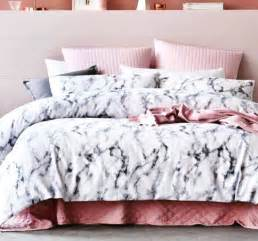 Bedroom Comforter Ideas this rose gold marble bedding on the hunt