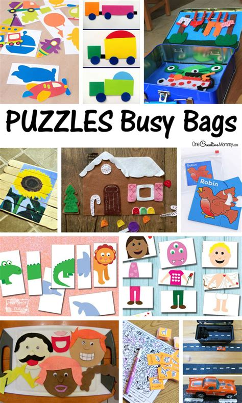 printable toddler busy bags best busy bags for preschool and toddlers
