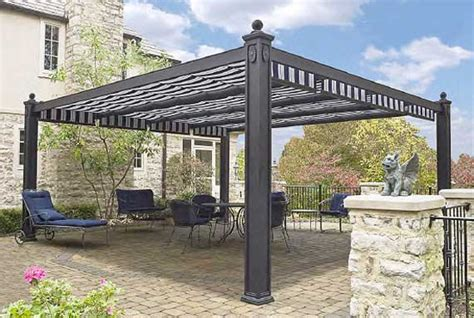 metal awnings deck canopy shadetree canopies