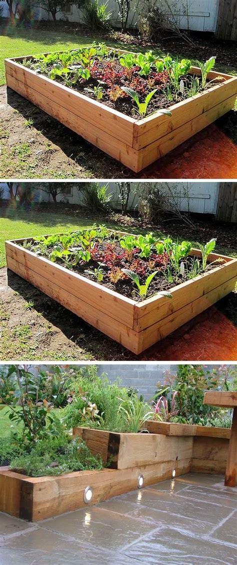 do it yourself raised garden beds gardening do it yourself planter gardens raised