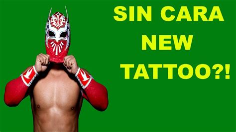 sin cara tattoo cara s new 2013