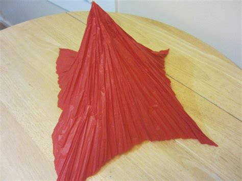 Tissue Paper Origami - how to make tissue paper flowers origami carnations