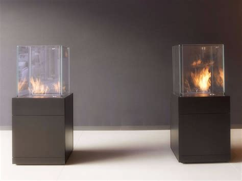 camino antonio lupi outdoor bioethanol fireplace babele by antonio lupi design