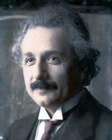 albert einstein in color albert einstein german physicist scientist 1921 8x10 quot