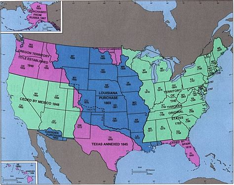 manifest destiny map andie s awesome history manifest destiny map