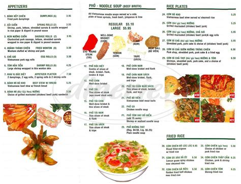 saigon noodle house menu saigon noodle house menu la mirada dineries