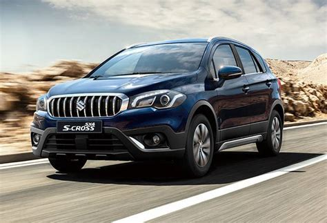 maruti suzuki sx4 s cross price maruti suzuki launches s cross facelift price starts at