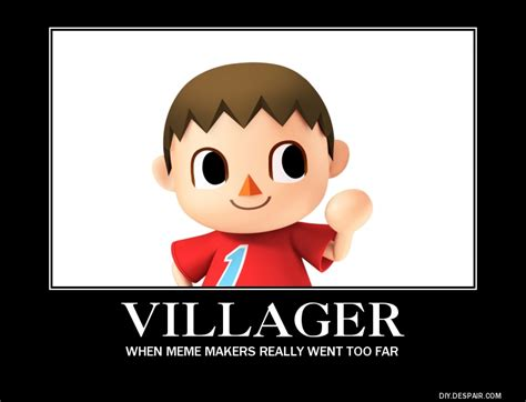 Villager Memes - villager demotivational poster by comicreadinggamer on