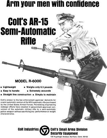 oldschool colt ar 15 ads   armory blog