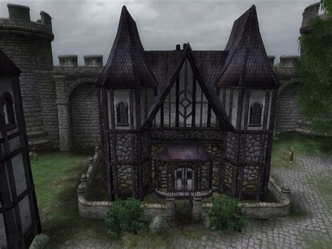 oblivion houses big house inspired by cheydinhal style architecture oblivion minecraft project
