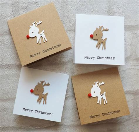 baby reindeer christmas cards pack of 10 by lisa walker