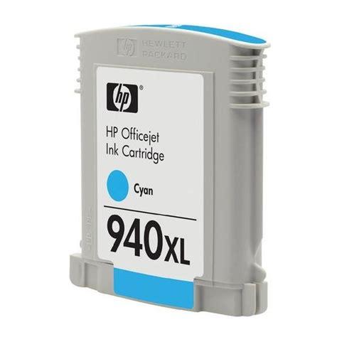 Hp 940xl Officejet Ink Cartridge C4907aa Cyan hp 940xl cyan ink cartridge high capacity c4907ae