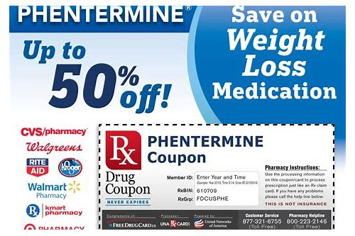 phentermine coupons walgreens