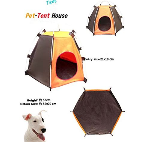 pup tent pyurs pet c tent foldable dog bed house for
