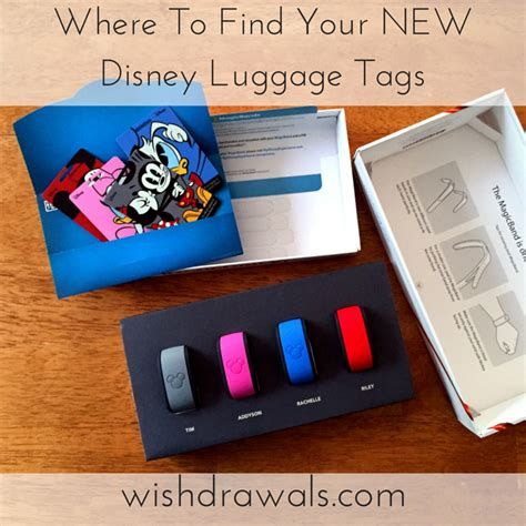 Find Your Tag Wishdrawals Travel Where To Find Your New Disney Luggage